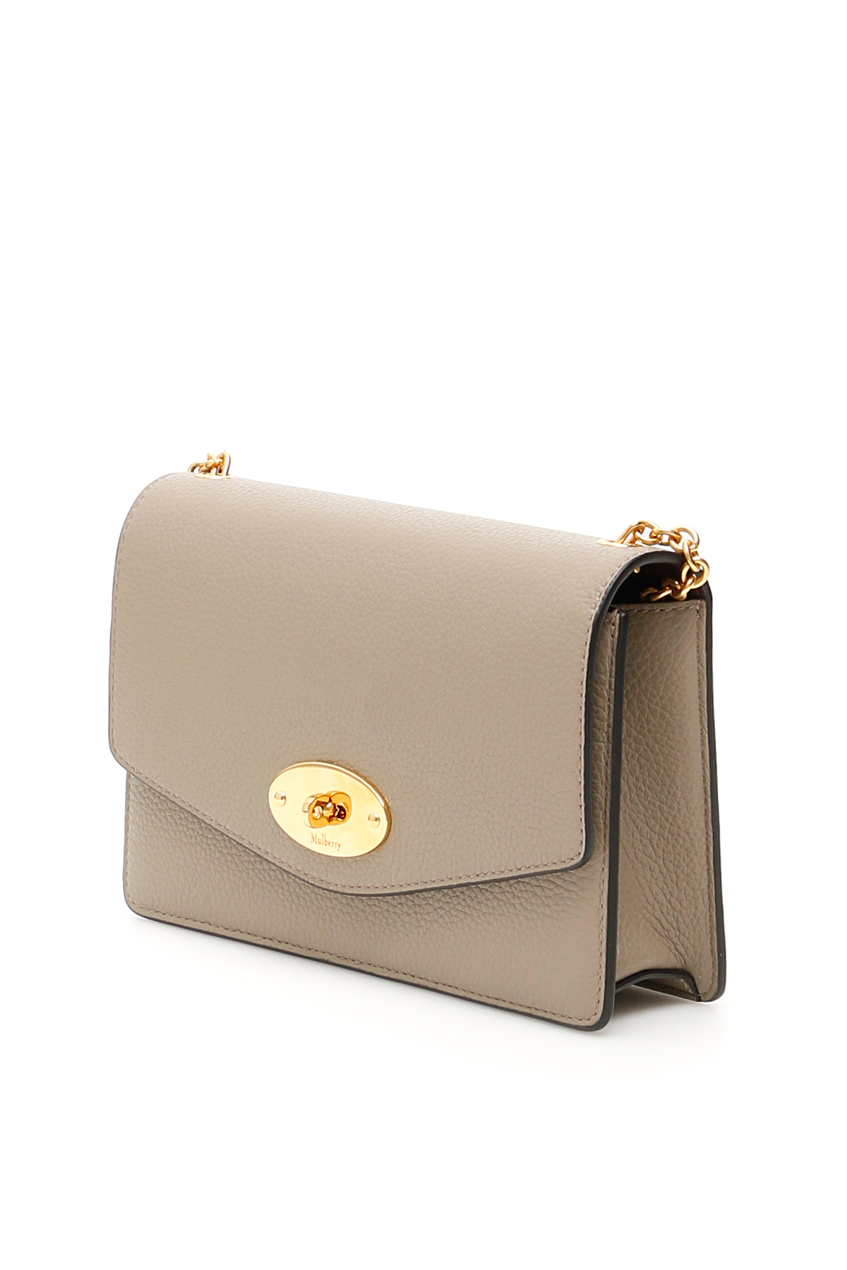 MULBERRY Leathers GRAIN LEATHER SMALL DARLEY BAG