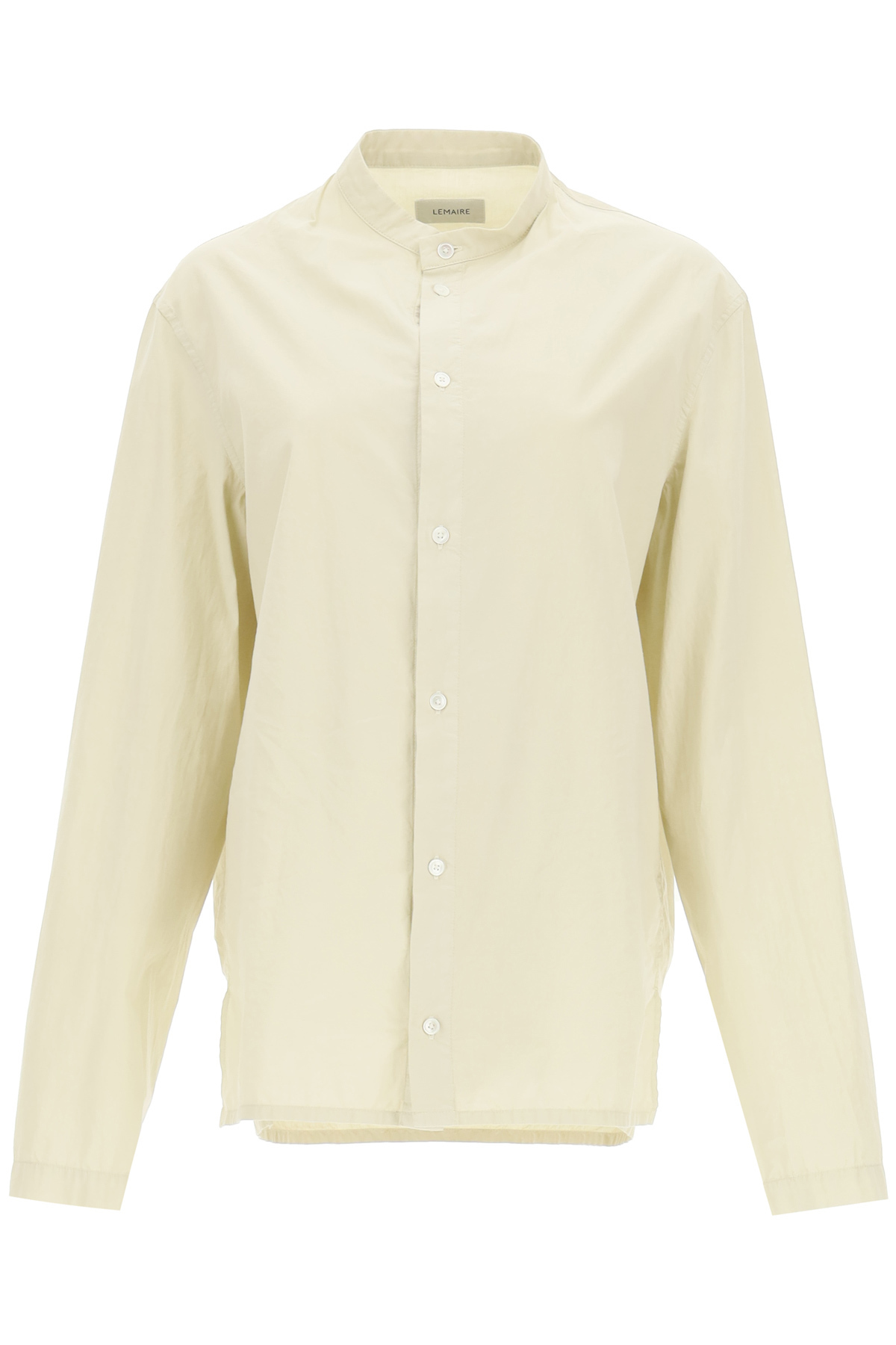 Lemaire UNISEX SHIRT WITH CONVERTIBLE NECKLINE