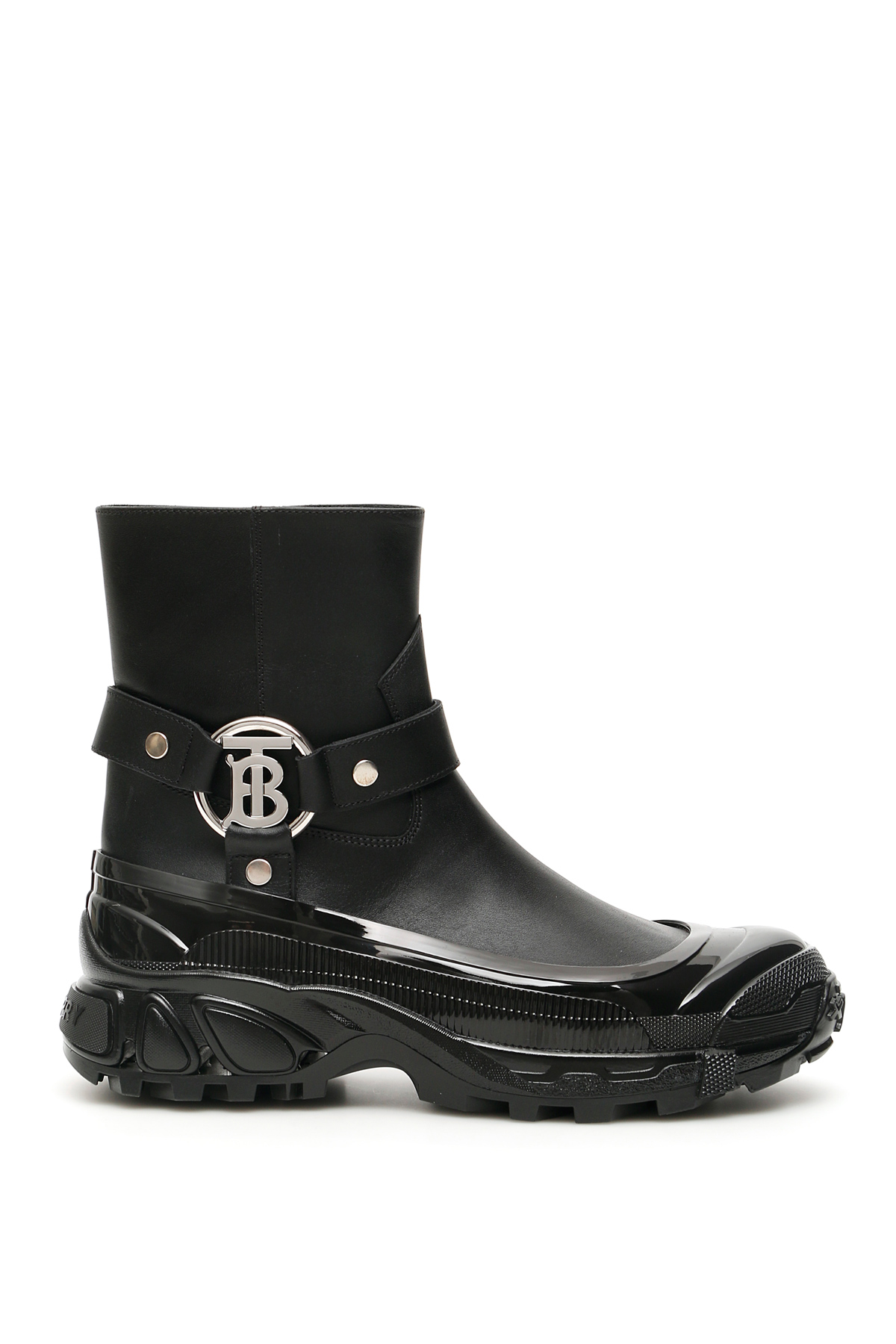 Burberry Leathers MALLORY TB BOOTS