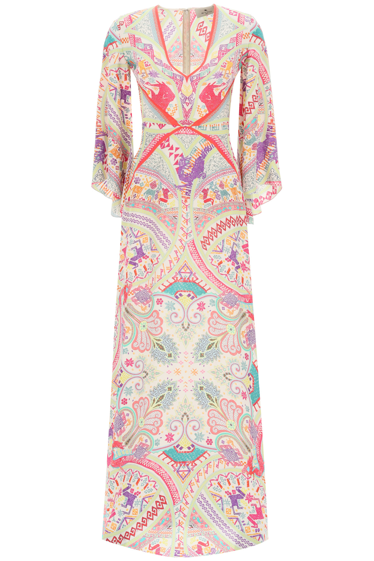 ETRO IDRA DRESS ETHNIC PAISLEY PRINT