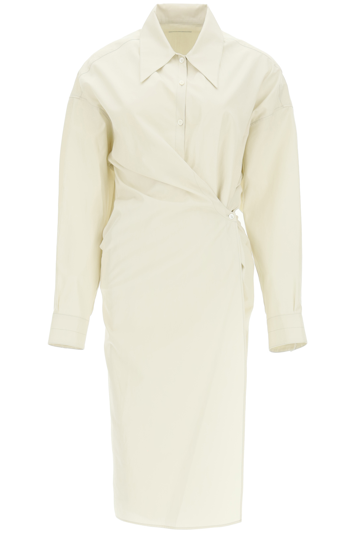 Lemaire DRESS WITH ASYMMETRIC CLOSURE