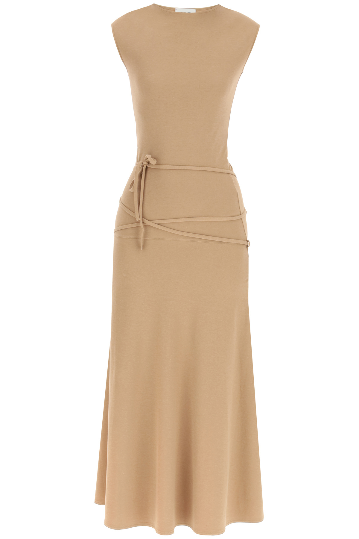 Lemaire SLEEVELESS DRESS IN CREPE JERSEY