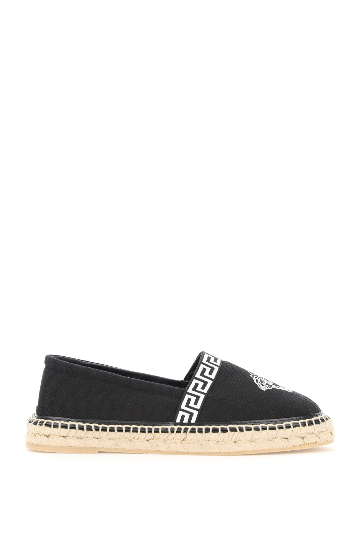Versace CANVAS ESPADRILLES WITH MEDUSA