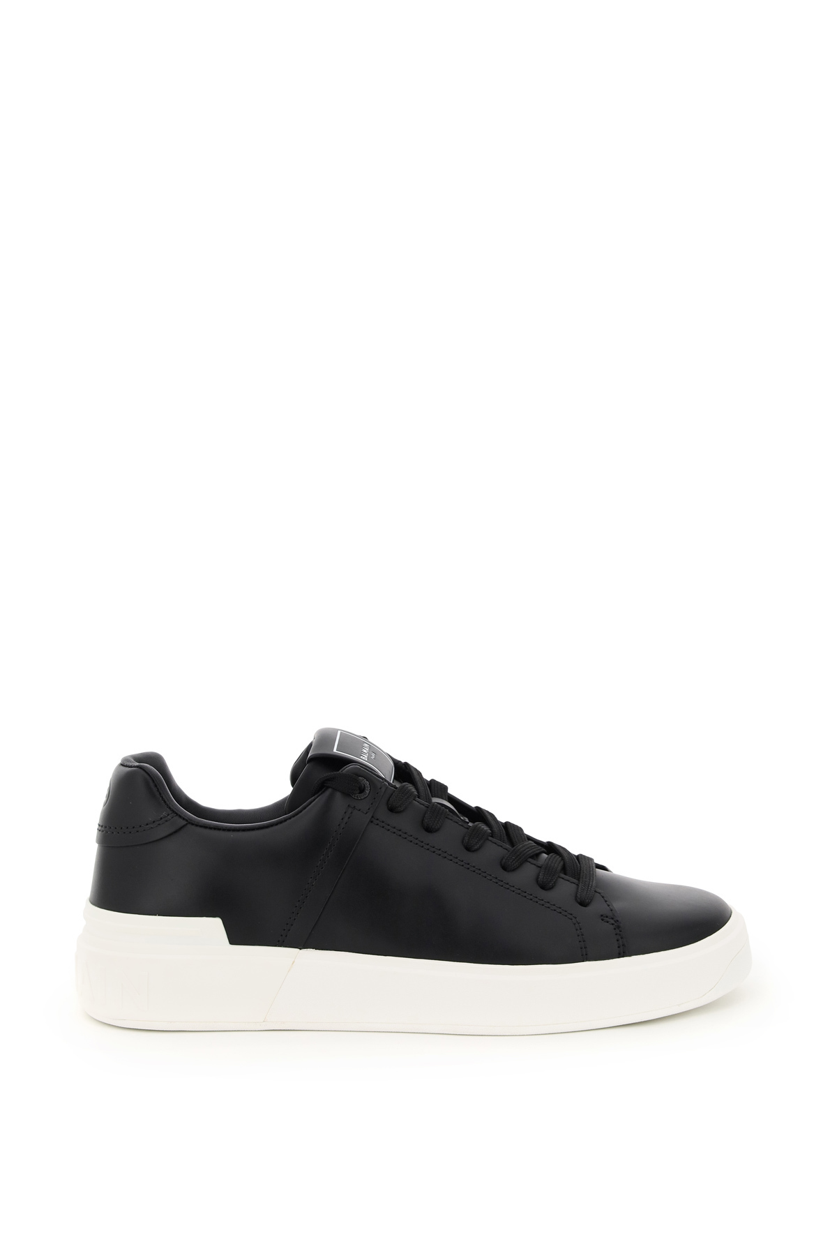 BALMAIN B COURT LEATHER SNEAKERS