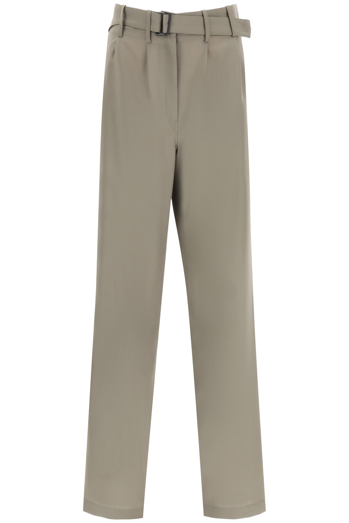 Lemaire WIDE LEG TROUSERS WITH BELT