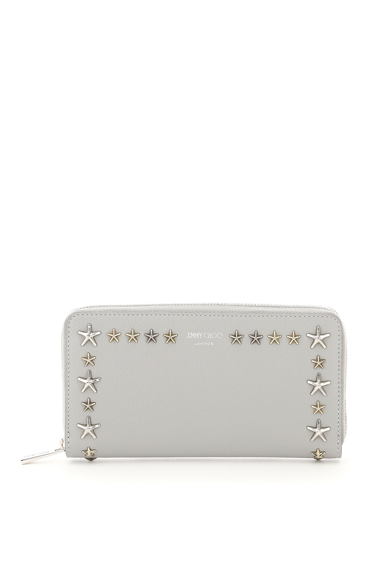 Jimmy Choo PIPPA ZIP AROUND WALLET STAR STUDS